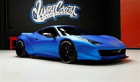 Last august, canadian pop tartlet, erstwhile pet monkey owner and recent pantsing victim justin bieber took delivery of a liberty walk kitted ferrari 458 italia according to british tabloid, the daily star, bieber hit the town for a hard night out a while back, parking the ferrari at the montage hotel in. Update (Sold): Justin Bieber's Liberty Walk Ferrari 458 Up for Auction