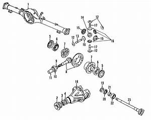 Chevrolet Tracker Differential Carrier Housing  Trans