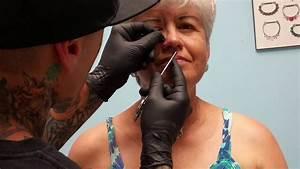 Grandma Gets Her Nose Pierced Nose Piercing Nose Nose