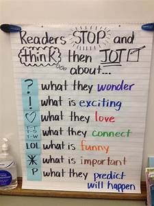 Interactive Charts For Preschool Stop And Jot First Grade Google Search Reading