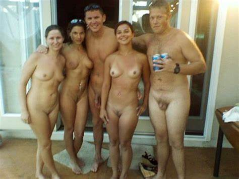 College Teenies In Nude Perverse Gangbang Porn By The Pool