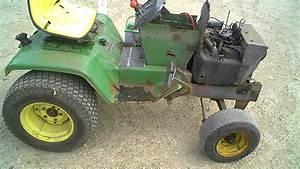 Lot 1827a John Deere 317 Lawn  U0026 Garden Tractor Tear Down