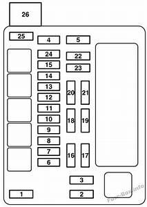 Fuse Box Diagram  U0026gt  Mitsubishi Endeavor  2004