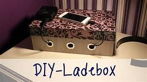 Ladestation Für Handy : julia 39 s tillishop diy 39 s ladebox f r handy und co youtube ~ Watch28wear.com Haus und Dekorationen