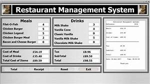 Java Netbeans Object Oriented Project Of Restaurant