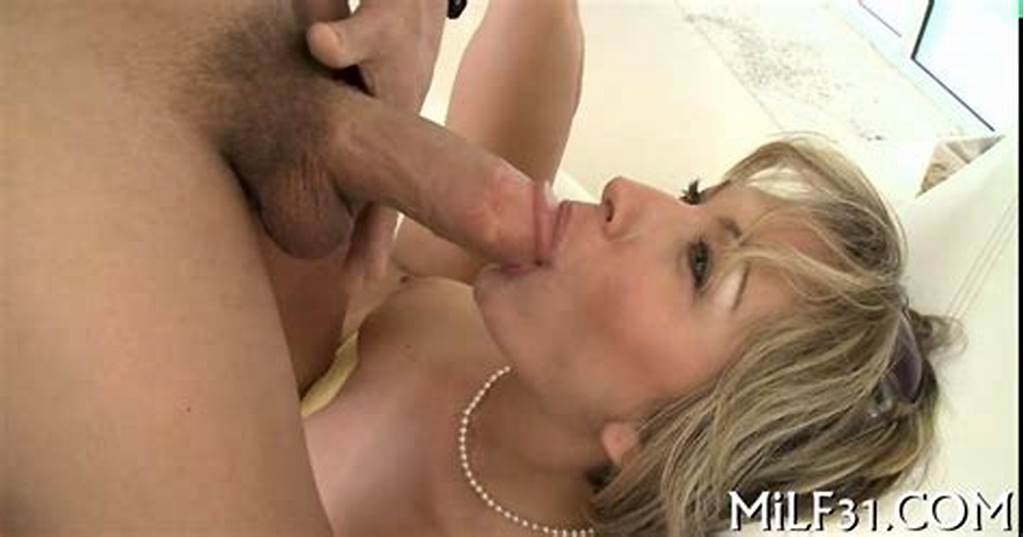 #Short #Haired #Blonde #Milf #Honey #Sucks #A #Dick #And #Rides #It