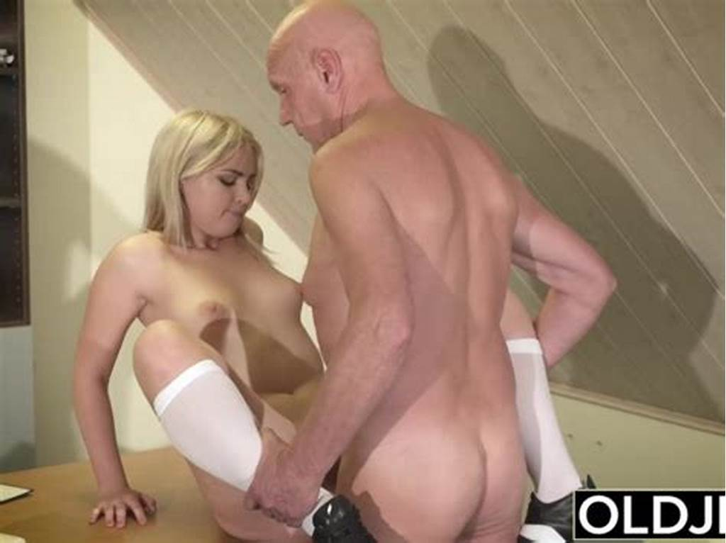 #Barely #Legal #Teen #Riding #Old #Man #Cock #And #Sucking #His