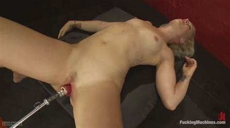 Nude Riding Teen Machine