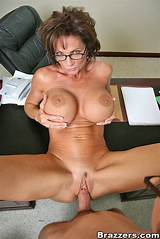 Big tits at work deauxma