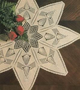 Pineapple Star Doily Home Decor Digest Size Crochet
