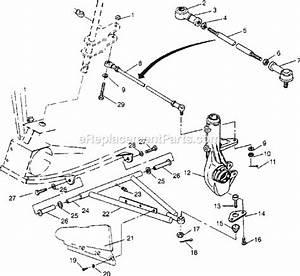 1995 Polaris Sportsman 400 Parts Diagram