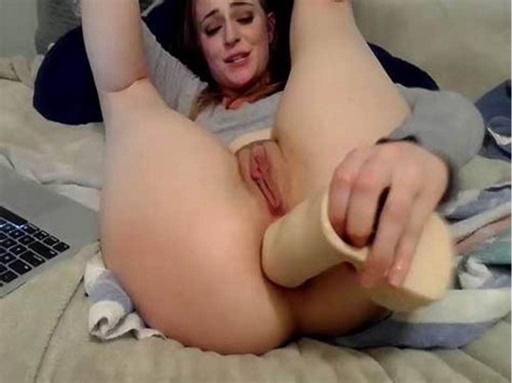 #Big #Ass #Teen #Colossal #Dildo #Anal #Fuck #And #Loose #Gaping