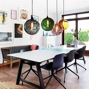 Suspension Salon Design : grande suspension design en verre transparent color ballroom xl ~ Teatrodelosmanantiales.com Idées de Décoration