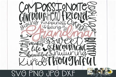 Give thanks free svg cut file (note: Grandma Svg | Mothers Day Svg | Fabulous Commercial Use ...