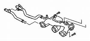 Chrysler Sebring Pipe  Coolent Feed
