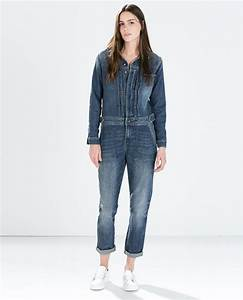 combinaison denim plis combinaisons femme zara france With combinaison sous vêtement femme