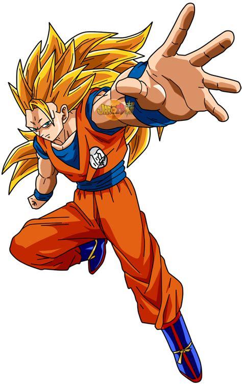 Goku ssj 3 by jaredsongohan on DeviantArt Goku Dbz