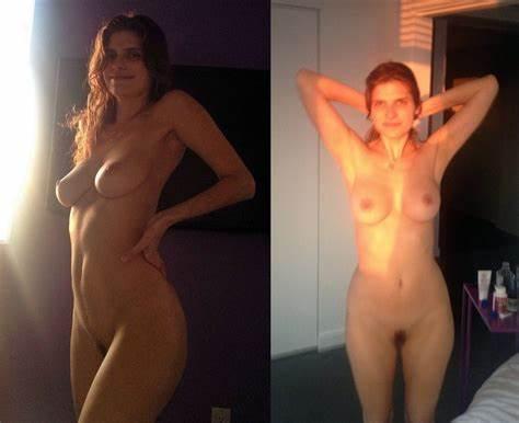 Hannah Stocking Nude