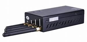 Portable Cell Phone And Wifi Jammer Built