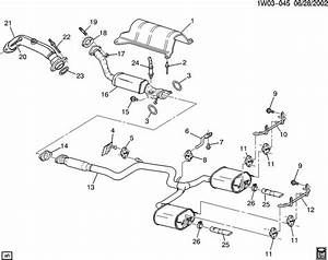 Chevrolet Impala Insulator  Catalytic Converter  Exhaust