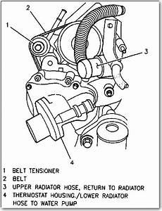 03 Cavalier Serpentine Belt
