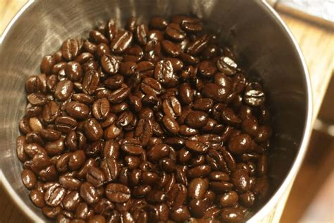 Oily coffee is usually within a few weeks of roasting and probably has a strong flavor. Oily Beans