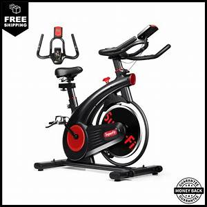 Stationary Exercise Bike Silent Belt With Sturdy 20lbs