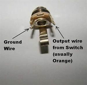 Wiring Diagram Guitar Output Jack