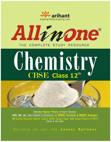 Download cbse class 2 ncert books from here. CBSE - All in One Chemistry Class 12 English 2nd Edition ...