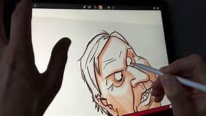 Apple Pencil Drawing On Ipad Pro In Sketch Club App