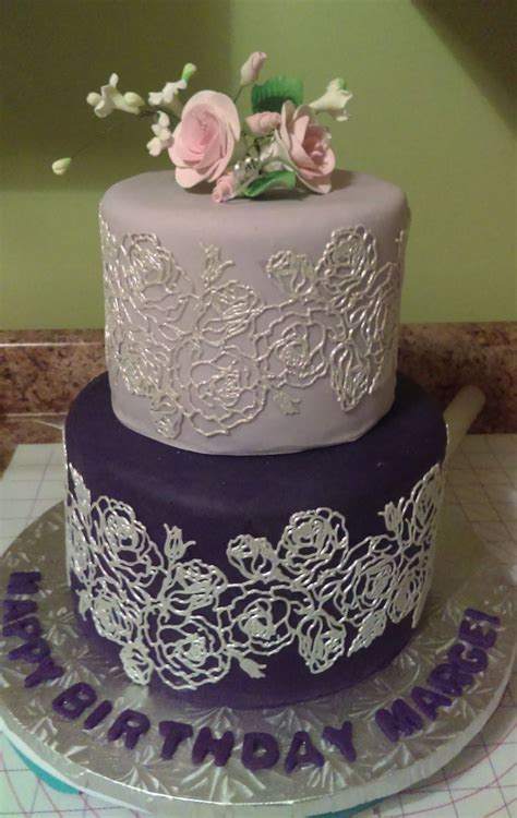 This is one of the best 60th birthday party ideas for mom, and you should go to the. Marge's 60Th Birthday Cake | 60th birthday cakes, 60th birthday cake for mom, Cool cake designs