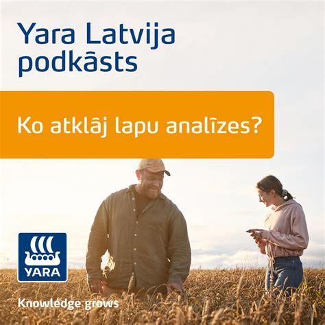 Ko atklāj lapu analīzes? - Yara Latvija podkāsts (podcast ...