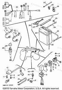 Yamaha Atv 1993 Oem Parts Diagram For Electrical