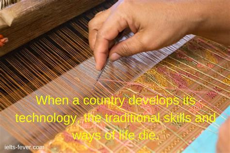 When a country develops its technology, - IELTS FEVER