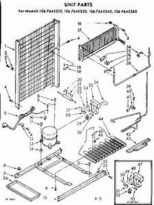 Kenmore 1067645310 Refrigerator Parts