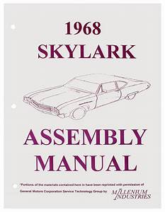 Service Manuals For 1968 Skylark   Opgi Com