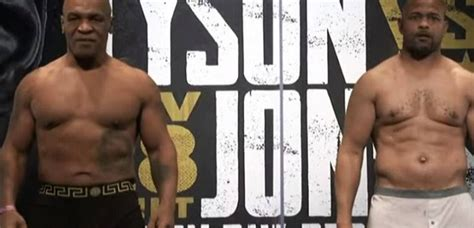 The bout was promoted by triller. Mike Tyson vs Roy Jones Jr, Two Legends Return, Fight Information, Main Card Starting Time - 2Spoort