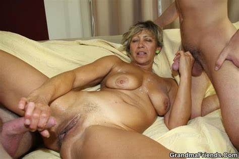 Old Threesome Fucks Porn On Reality Amateur