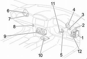 Toyota 86  2012 - 2017  - Fuse Box Diagram
