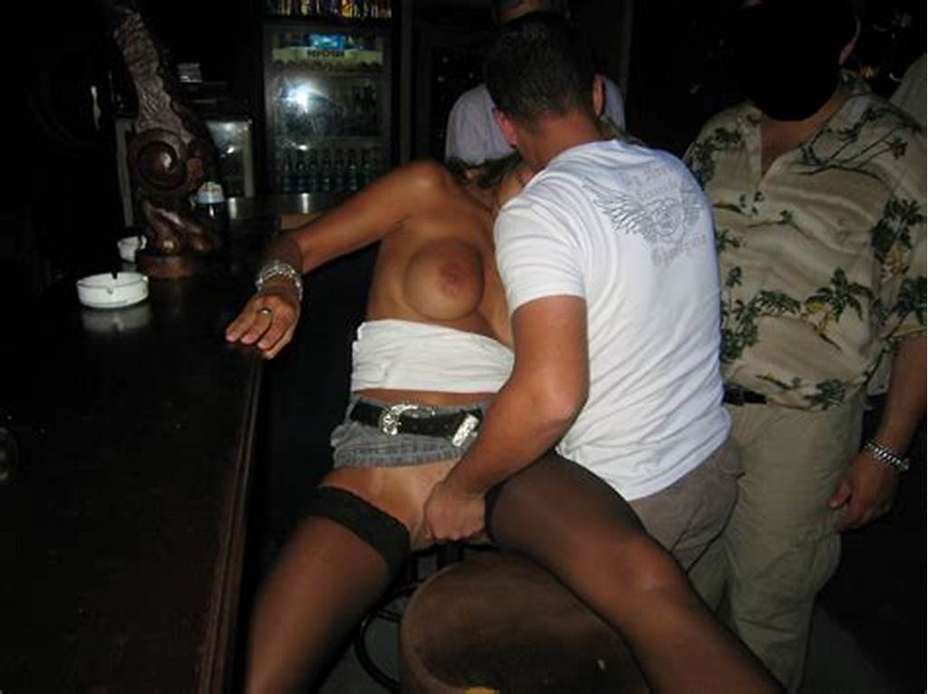 #Drunk #Wife #Gangbanged #In #Bar