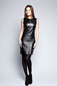 44 trendy leather dresses save a chic outfit hum ideas With robe cuir sexy