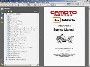 Goes-cfmoto 500 - Service Manual