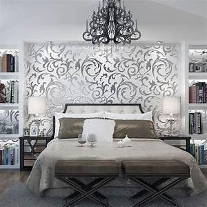 Wandfarbe Silber Glänzend : die besten 25 wandfarbe silber ideen auf pinterest ~ Michelbontemps.com Haus und Dekorationen