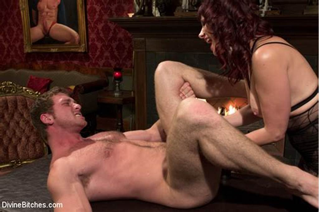 #Auburn #Haired #Maitresse #Madeline #Drilling #A #Dude'S #Tight