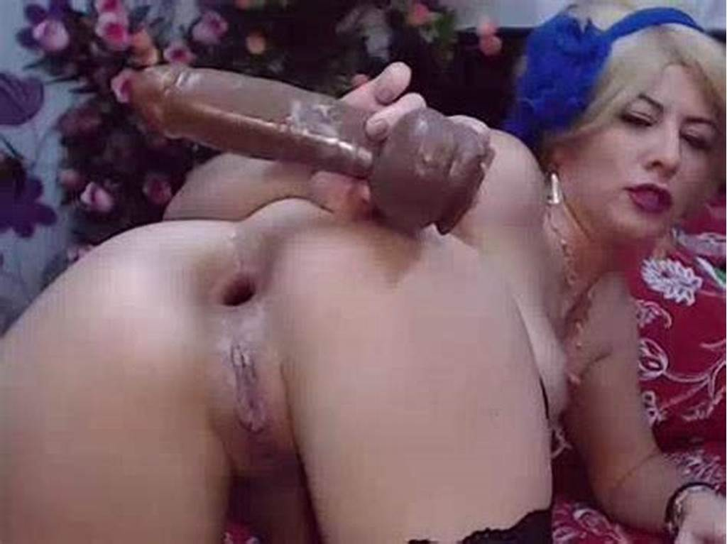 #Booty #Blonde #Anal #Gape #Ruined #After #Brutal #Solo #Fisting