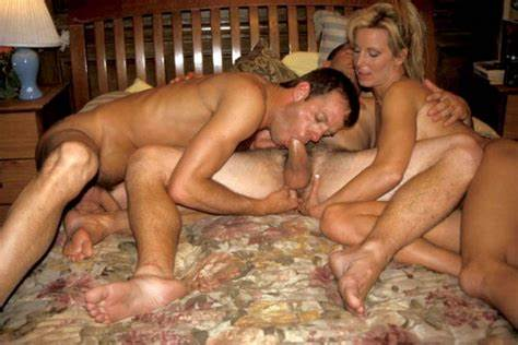 Mfm Wife Having A Bisexual Swinger Window Bisex Cousin