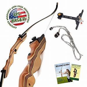 Amazon Com   Keshes Takedown Hunting Recurve Bow And Arrow
