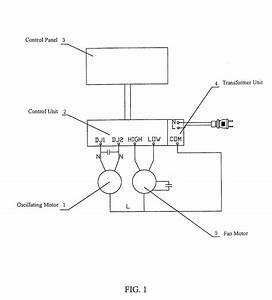 Lasko Oscillating Fan Wiring Diagram