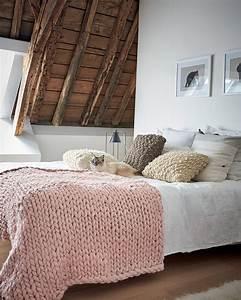 Tricoter Un Plaid En Grosse Laine : plaid en grosse laine beautiful with plaid en grosse laine cool coussin laine oreiller chunky ~ Melissatoandfro.com Idées de Décoration