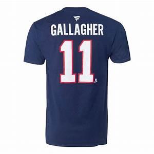 Brendan Gallagher 11 Player T Shirt Tricolore Sports